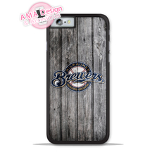 Milwaukee Brewers Baseball Sport Phone Cover Case For Apple iPhone X 8 7 6 6s Plus 5 5s SE 5c 4 4s For iPod Touch(China)