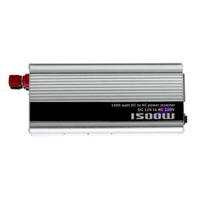free shipping modified sine wave car power inverter 12v 220v 1500w