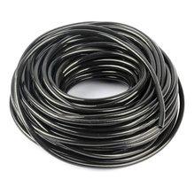 Hi-Quality 30m 50m 100m 3/5mm PVC Tube Hose Use In Garden Drip Irrigation System Watering Garden Hose For Drip Arrow Emitters(China)