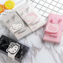 New Arrival 3.5mm in-Ear Earphone for Xiaomi Earphone hello kitty Earphone for Mobile Phone MP4 MP3 Player xiaomi cellphone(China)