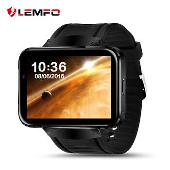 Lemfo lem4 android smart watch smartwatch bluetooth 4.0 pantalla de 2.2 pulgadas tarjeta sim nano soporte google mapa 512 mb + 4 gb
