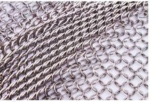 7mm 304 stainless steel chain mesh welded wire mesh  touch welding mesh, stainless steel wire mesh 30*30cm