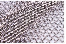 7mm 304 stainless steel chain mesh welded wire mesh touch welding mesh, stainless steel wire mesh 30*30cm(China)