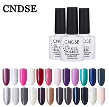 CNDSE Gel Nail Polish Sale 96 Pure Colors Semi Permanent Uv Enamels All For Nails Design Free Shipping Healthy Eco-Friendly