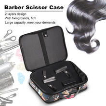 Barber Scissor Case Bag Hair Clips Cutting Thinning Scissors Bag Comb Shears Hair Salon Tool Organizer Hairdressing Storage Bag
