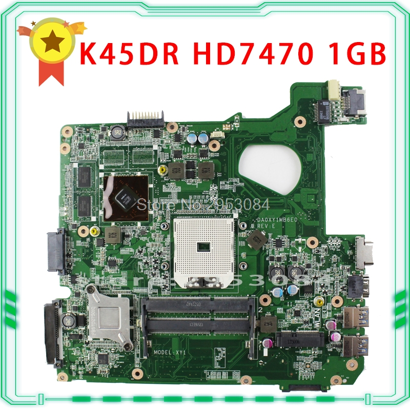 A45D A45DR K45D K45DR R400D R400DR ASUS motherboard A70M Radeon HD 7470M 1 GB 216-0809000 fully tested & working perfect