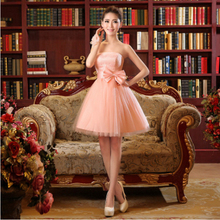 cute latest beautiful high school short 8th grade graduation dresses tulle girls dressy teen ball dress free shipping S2994