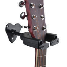 Guitar Accessories metal Hook Holder Wall Mount Stand Rack Bracket Display For Guitars Bass  Guitar hooks automatic locking