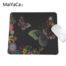 Hot Selling Multi-Styles Custom Abstract Artistic Butterfly Design High Quality Durable Computer and Laptop Mouse Pad(China)