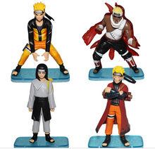 4pcs/set 10cm Perfect PVC Anime Naruto Model Toy Action Figure Decoration Collection Gift - and Retail Store store
