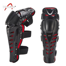Free Shipping Motorcycle Racing Knee Guards Motocross Protective Knee Pads Outdoor Sport Leg Brace Protection Gear(China)