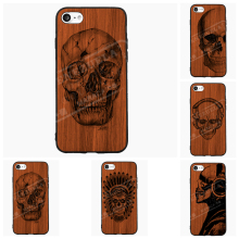 Retro Skull Phone Case iPhone 5 6 7 s Plus Samsung Galaxy S J Priv Mi5 P8 9 Lite OnePlus Cover Shell Accessories Gift - Vintage Decor store