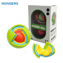 New 3D Magic Intellect Puzzle Maze Ball Brain Teaser Game Educations for Kids adult IQ Training Logical Puzzle Children Toy