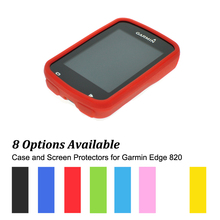 Rubber Protect Skin Case for Cycling Computer GPS Garmin Edge 820