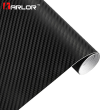 Car Styling 30*100cm DIY Waterproof Car Stickers 3D Car Carbon Fiber Vinyl Automobiles Motorcycle Decal Film Air Bubble free(China)