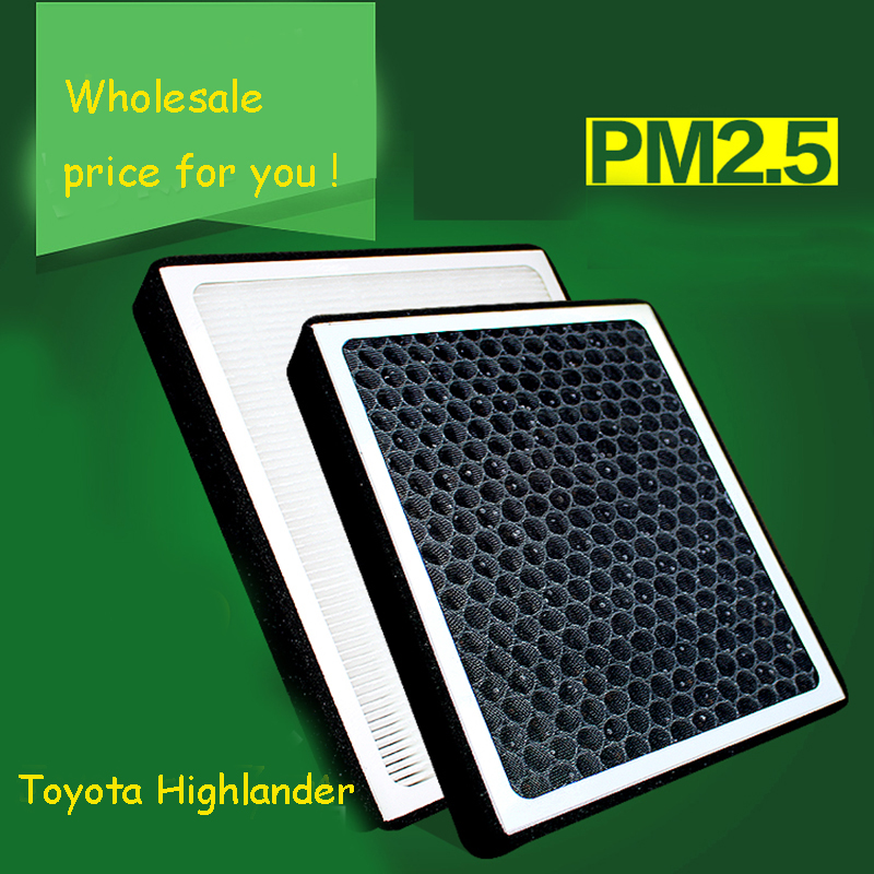 1pcs High Quality Actived Carbon Heap Car Air Filter For Toyota Highlander Car Air Conditioner Air Purifier Freshener<br><br>Aliexpress