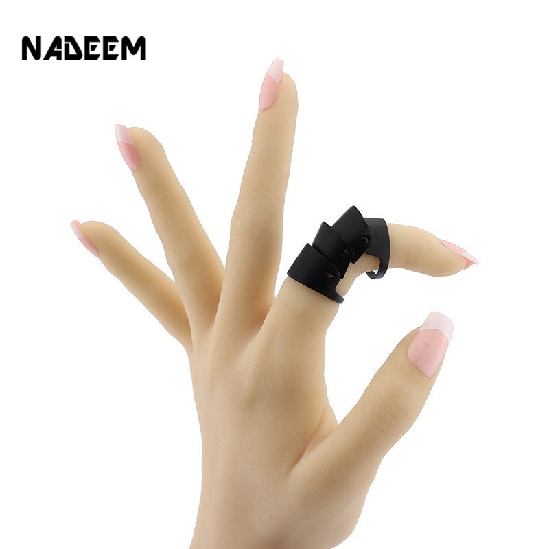NADEEM Wholesale Fashion Gothic Punk Hinged Knuckle Joint Full Finger Spike Armor Rings Claw Bulk Ring Jewelry For Men Women(China (Mainland))