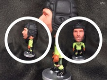 Soccer dolls figurine sports player stars Cech Movable joints resin model toy action figure dolls collectible boyfriend gift(China)