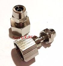 "3/8"" BSP Female Thread to Qucik fit For 10x6.5mm O/DxI/D Hose Brass Pneumatic Pipe Hose Coupler Fitting Connector Adapter"