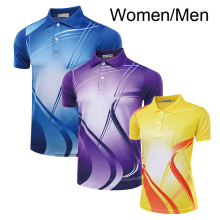 New Tennis shirt Men / Women , Table tennis shirt , Tennis shirt female/male , sports t-shirt Tennis shirt 5051AB