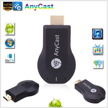 20pcs chrome cast AnyCast M2 WiFi Display Receiver DLNA AirPlay Miracast Dongle TV Stick for Windows Android iOS Mac HDMI 1080P