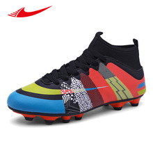 Beita Men Soccer Shoes Long Spikes Lawn Trainers Sport Cleat Football Shoes Non-Slip Men Sneakers Teenagers Zapatillas Deportiva(China)
