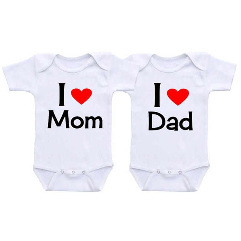 Girls Present I Love My Mummy New Personalised Baby Vests Bodysuits for Boys
