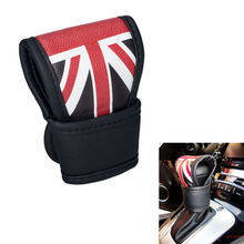 Auto Universal Union Jack Uk Flag AT/MT Car Gear Shift Knob Cover Protector Fit For Mini Cooper F56 F55 R60 R59 R61 Car Styling(China)