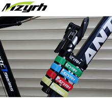 5PCS/LOT MZYRH Bicycle Nylon Velcro Buckle Stickers Strap Bundled Band 2cm*30cm MTB Mountain Bike Accessories(China)