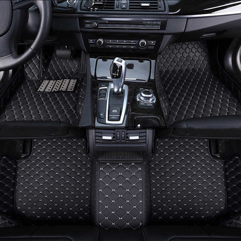 Car Floor Mat Carpet Rug Ground Mats Leather Accessories For Mg Zs Gt   Gs