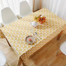 Vintage Style  Canvas Table Cloth Cover Yellow Feather  Home Hotel Cafe House Party Home Decro 9 size for choose