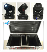 T-2Pcs+Case Free shipping 2017 new product spot moving head disco lighting 180w moving head(China)