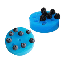 blueberry Mulberry Raspberry Cranberry cooking tools decoration Silicone mold baking Fondant Sugar Craft Molds DIY Cake fimo