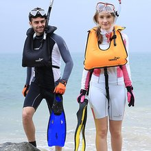 Long Fins Full Foot Swimming Snorkeling Flippers Training Diving Equipment Lightweight Adult Outdoor Water Sports Faster Speed(China)