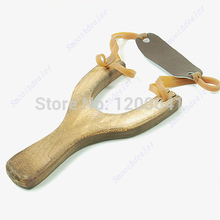 Style Wood Slingshot Wooden Traditional Toy Wooden Sling Shot New(China)