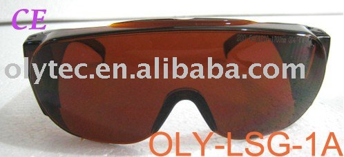 multi-wavelength laser protection eyewear (190-540nm&amp;900-1700nm. O.D  4+ CE ), high quality and comfortable to wear<br>