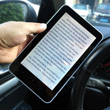 Ebook reader 7inch Touch Screen digital E-book+recording +Video+MP3 music Wifi player
