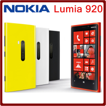 Original unlocked Nokia Lumia 920 Mobile Phones 4.5 inch Capacitive screen Dual core 32G ROM 1G RAM Free shipping