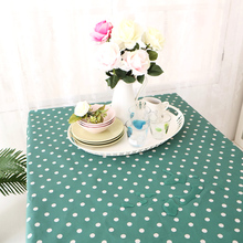Japan Zakka Style Waterproof Oilproof Fashion Table Cover Customize Table Cloth Square Rectangular Home Textile Tablecloth