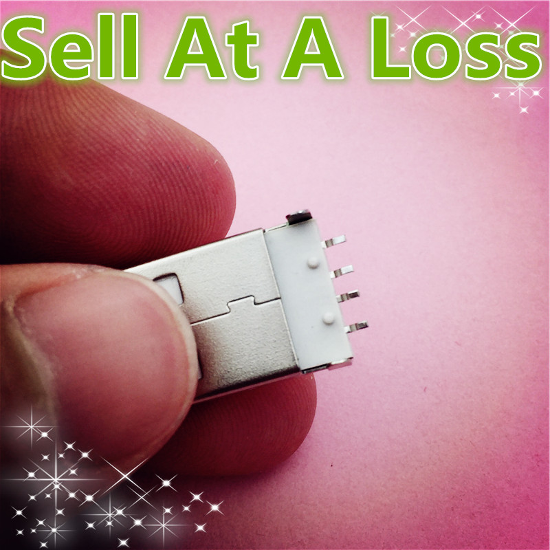 10pcs G48 USB 2.0 4Pin A Type Male Plug Connector for Data Transmission Charging High Quality Sell At A Loss USA Belarus Ukraine<br><br>Aliexpress