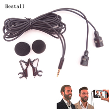 Bestall Omnidirectional Camera Lavalier Condenser Broadcast Microphone Professional for iPhone 7 6 6s 6s plus 5 5s 4 4s