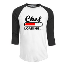Chef Gift Nutritional Facts shirts tee Plain Raglan Casual Round Neck Summer Casual mens guys(China)