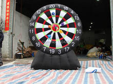 2016  newest inflatable sports game inflatable dart board for both kids and adults inflatable games