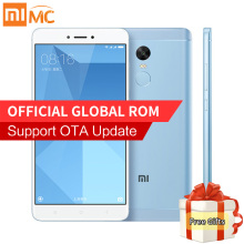 "Original Xiaomi Redmi Note 4X 4GB RAM 64GB ROM Mobile Phone MTK Helio X20 Deca Core 5.5"" FHD 13.0MP Camera Fingerprint MIUI 8.1"