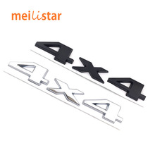 3D metal 4x4 Four wheel drive Car sticker Logo Emblem Badge Styling Fiat Bmw Ford Honda volkswagen Audi toyota opel DS - CKstar Accessories Store store