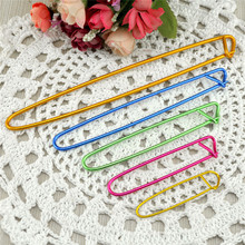 5 Sizes/set Knitting Crochet Markers Holder Needle Clip Craft Locking Stitch Aluminum Weaving Tools Sewing Accessories