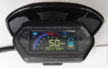 LCD display for electric bike scooter motorcycle speedometer odometer with shell 48v-96v for little turtleking battery indicator(China)