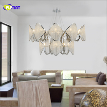 K9 Crystal Pendant Lights Luxury Clubhouse Hotel Lights Postmodern Suspension Lightings Luxury Stainless Steel Lighting