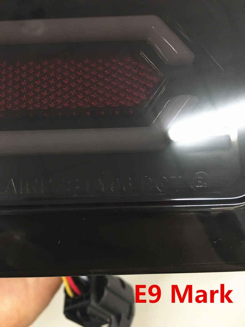 LED Tail Lights Rear Brake Lamps Kit For Jeep Wrangler 07-15 EU Model