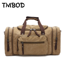 New 2017 Designer Men Large Capacity Canvas Mountaineer Travel Bag Multifunctional Bucket Tote Casual Trip Shoulder Bags an148(China)